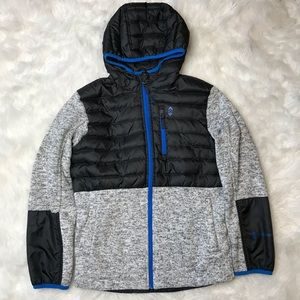 Free Country Boys Puffer Knit Zip Up